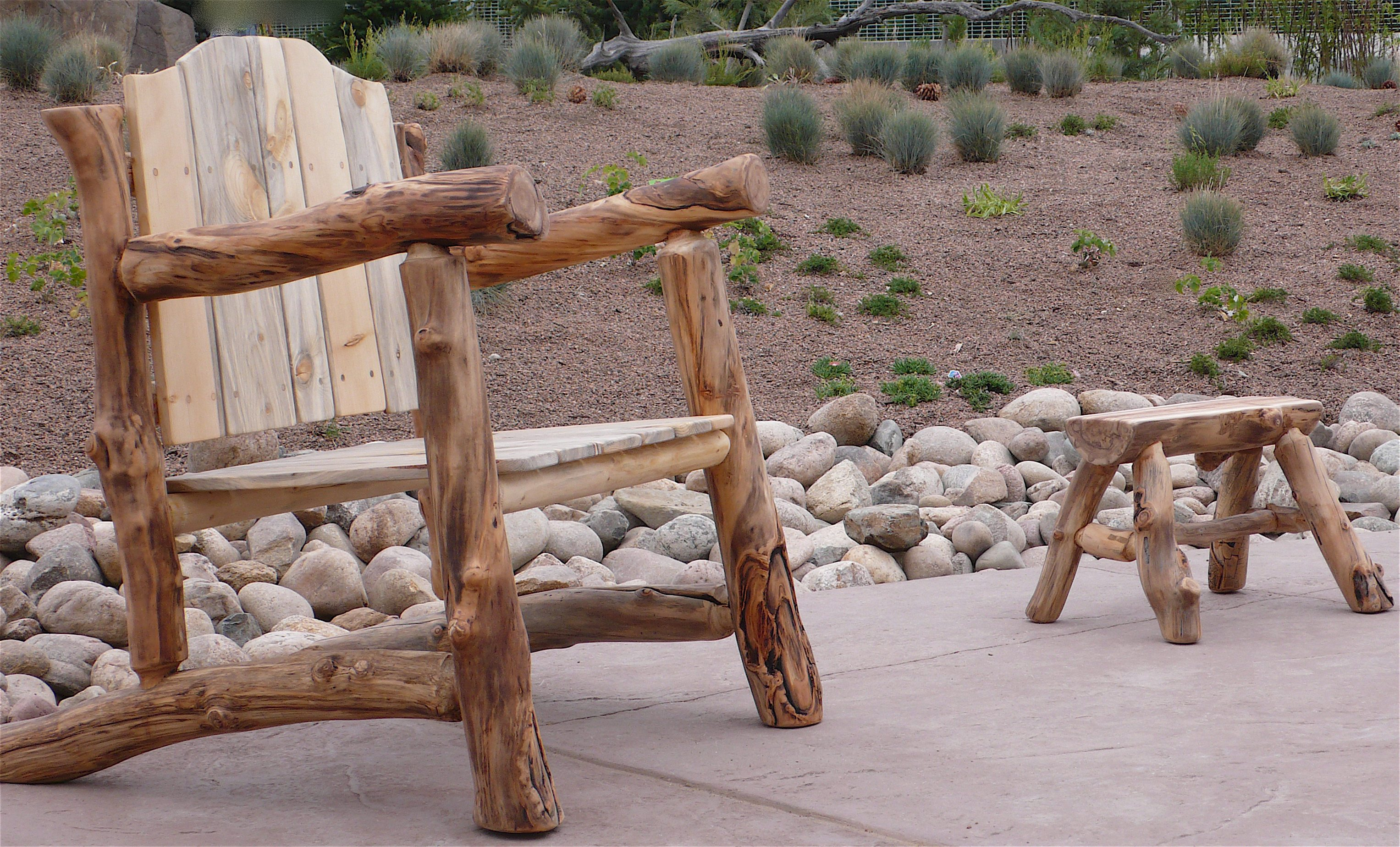 CATEGORY Aspen Log Furniture , Beetle Kill Pine Furniture , Outside ,  Seating